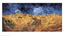 Wheatfield with Crows poster print by Vincent van Gogh