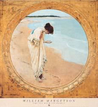 Sea Hath Its Pearls poster print by William H Margetson