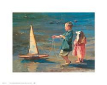 Smooth Sailing poster print by Nancy Seamons Crookston
