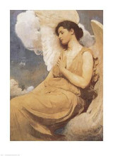 Winged Figure poster print by Abbott Handerso Thayer