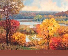Shades of Autumn poster print by Kent Wallis