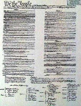 Constitution (Document) poster print by  Document