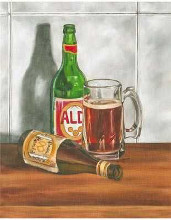 Beer Series I poster print by  Goldberger