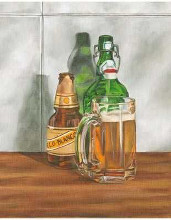 Beer Series II poster print by  Goldberger