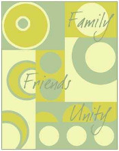 Circle of Friends I poster print by Archie Kate