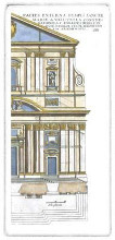Classical Facade II poster print by  Vision Studio