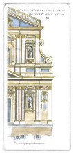 Classical Facade IV poster print by  Vision Studio
