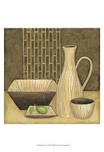 Bamboo Vase poster print by Chariklia Zarris