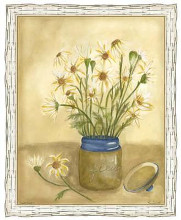 Country Daisy I poster print by Lam Vanna