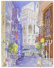 Maiden Lane, San Francisco, Ca poster print by J Presley