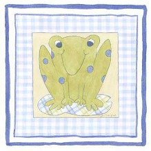 Frog with Plaid (Pp) III poster print by Meagher Megan