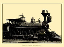 Locomotive I poster print by  Vision Studio