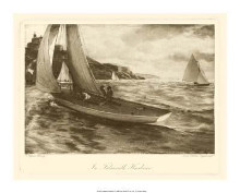 Falmouth Harbor poster print by Napier Henry