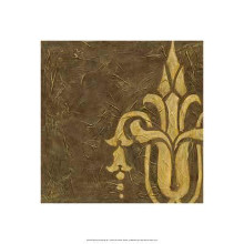 Gold Damask II poster print by Chariklia Zarris
