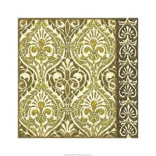 Burnished Arabesque II poster print by Nancy Slocum