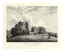 Chilham Castle In Kent poster print by W Watts