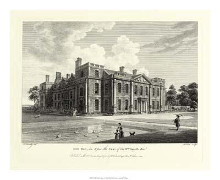 Hill Hall In Essex poster print by W Watts