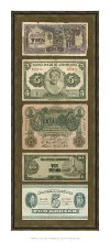 Foreign Currency Panel I poster print by Vision Studio