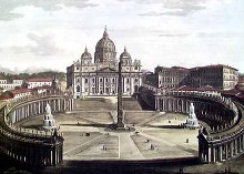 Basilica of Stpierre poster print by Alessandro Antonelli