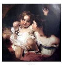 Calmady Children poster print by Sir Thomas Lawrence