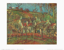 Red Roofs 1877 poster print