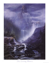 The Living Waters poster print by Danny Hahlbohm