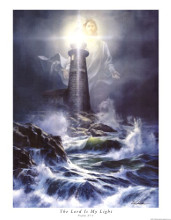 The Lord Is My Light poster print by Danny Hahlbohm