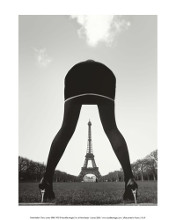 Paris, Eiffel Tower poster print by  Pierre