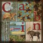 C is for Cabin poster print by Paul Brent