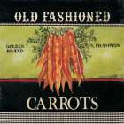 Old Fashioned Carrots poster print by Kimberly Poloson