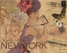 New York poster print by Maria Woods