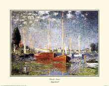 Argenteuil poster print by Claude Monet