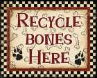 Recycle Bones poster print by Diane Stimson