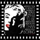 Imperfection is Beauty poster print by Enrique Rodriquez Jr