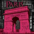 Paris  Type mate poster print by Jace Grey