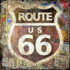 Route 66 poster print by Kimberly Allen