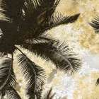 Palm Tree Gold 1 poster print