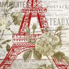 Paris Script Series 3 poster print by Allen Kimberly
