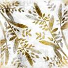 Botanical in Gold 2 poster print by Allen Kimberly