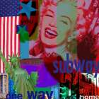 Marilyn Commute poster print by Marilu Windvand