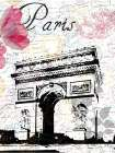 All Things Paris 3 poster print by Sheldon Lewis