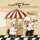Patisserie poster print by Joy Alldredge