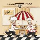 Cafe poster print by Joy Alldredge