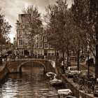 Autumn in Amsterdam IV poster print by Jeff Maihara