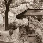 Cafe Aix-en-Provence poster print by Alan Blaustein