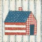 Americana Quilt III poster print by David Carter Brown