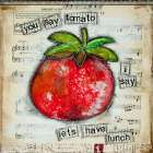 You Say Tomato poster print by Denise Braun