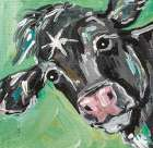 Black Cow poster print by Molly Susan Strong