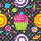 Candy Craze II poster print by  ND Art and Design