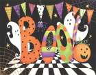 Boo poster print by  P.S. Art Studios